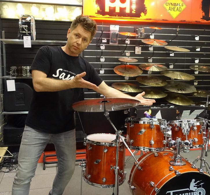 TAMBURO Drumsets nun auch bei SAM MUSIC in LINZ erhältich !