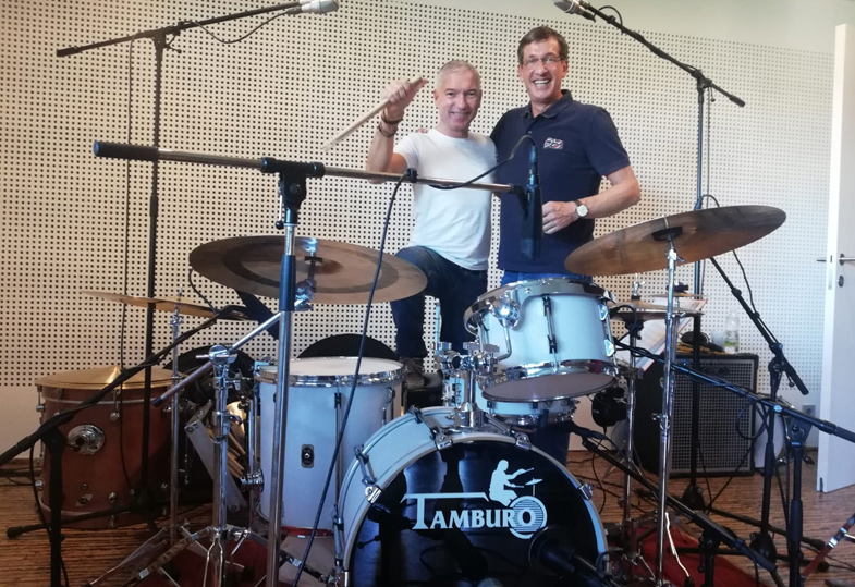 TAMBURO DRUMS CD-Recording: VIKTOR GERNOT